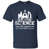 Mad Science Shirt sizes up to 6XL
