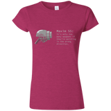 M55 Too Many Weapons Womens 100% cotton