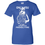 Friendly Fire Shirt Ladies Cut