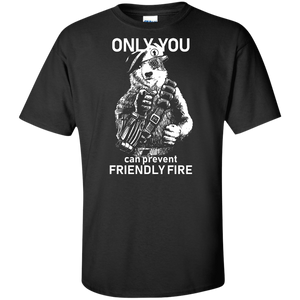 Friendly Fire Tall Sizes