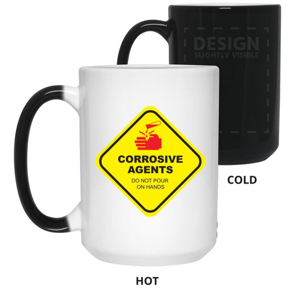Corrosive Agents Color Changing Mug
