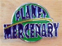 Planet Mercenary Pin