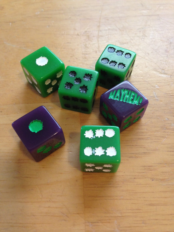 PM Dice Set