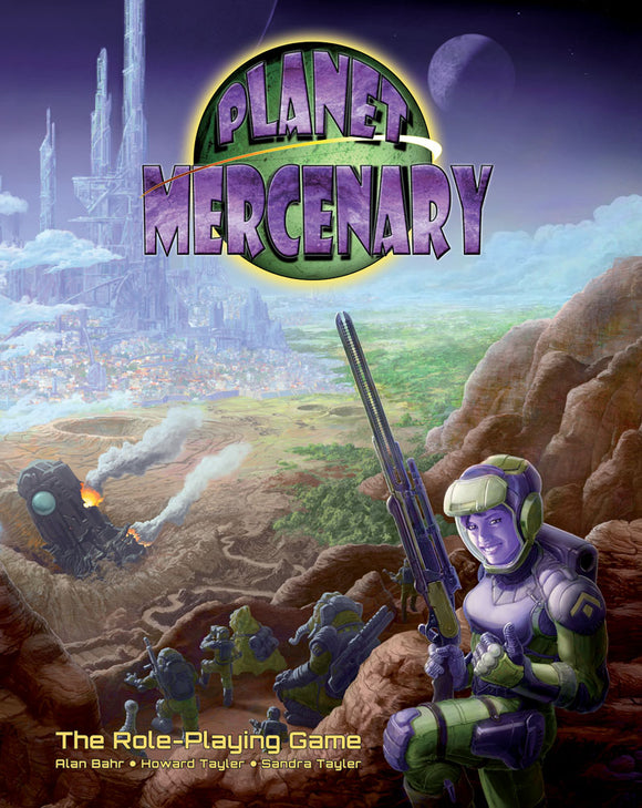 PM Planet Mercenary RPG