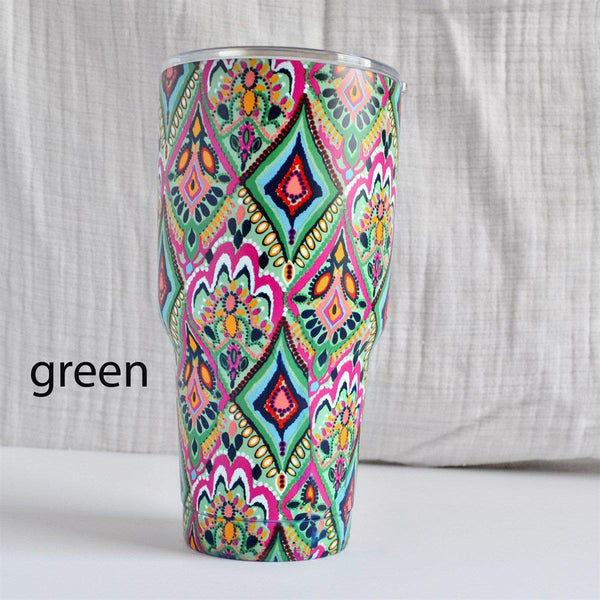 30 oz. Stainless Steel Insulated Cups-Little Spud Boutique-Green-Little Spud Boutique