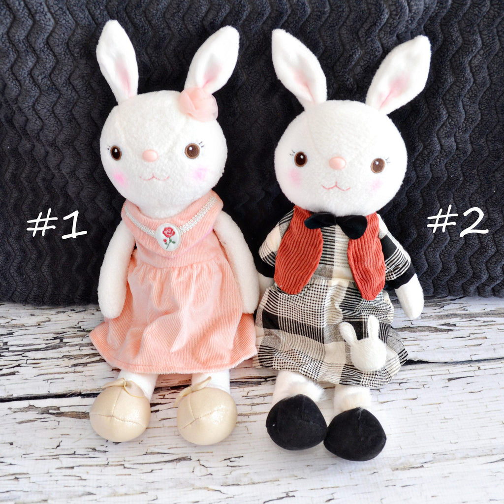 Plush Bunny-Little Spud Boutique-#1 pink dress-Little Spud Boutique