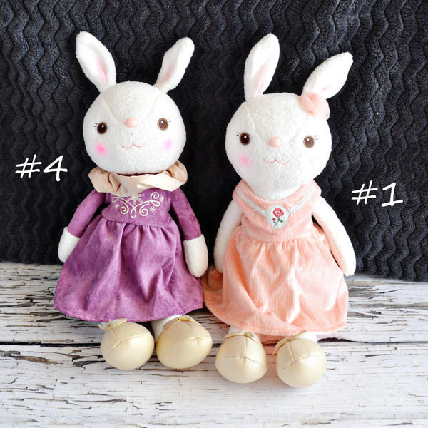 Plush Bunny-Little Spud Boutique-#4 purple dress-Little Spud Boutique