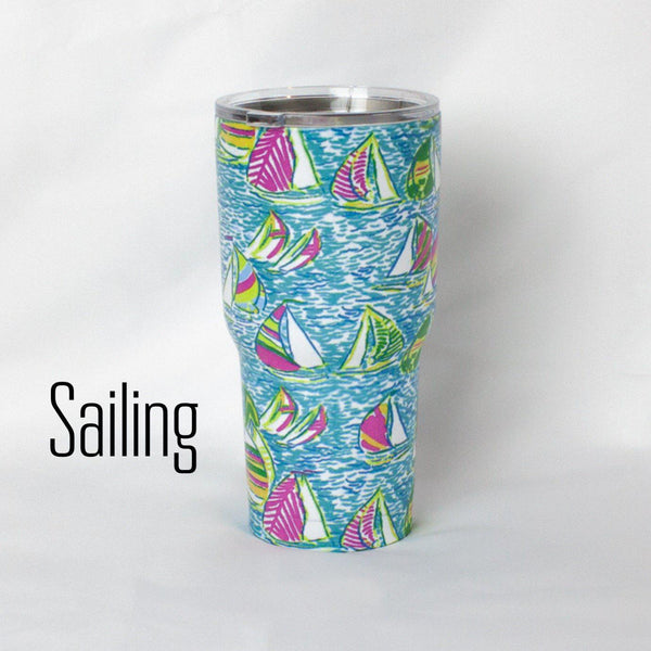 30 oz. Stainless Steel Insulated Cups-Little Spud Boutique-Sailing-Little Spud Boutique
