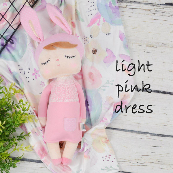 Plush Dolls-Little Spud Boutique-Light Pink Dress-Little Spud Boutique