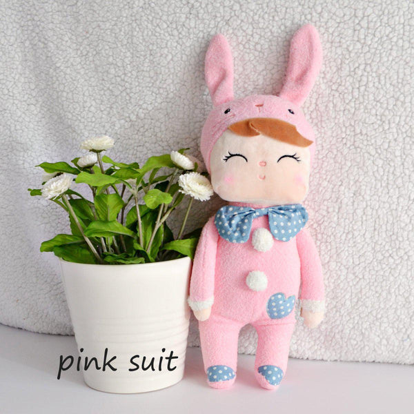 Plush Dolls-Little Spud Boutique-Pink Suit-Little Spud Boutique