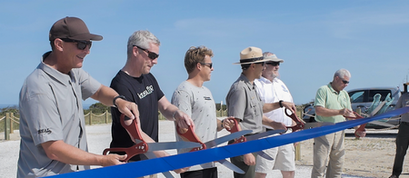 Kite Point Parking Area Officially Opens