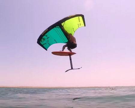 Wing Foiling the Outer Banks
