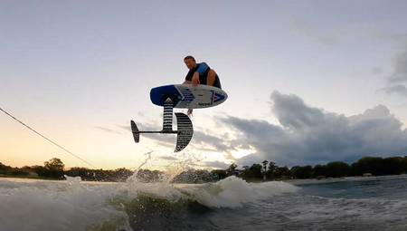 How to Improve your Wake Foil Skills with Austin Tovey