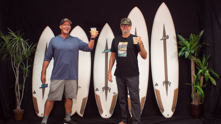 "...Lost Surfboards C4 Construction with Matt ""Mayhem"" Biolos"