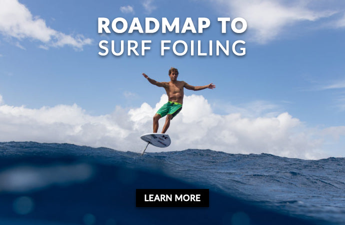Introducing the Surf Foil — REAL Watersports