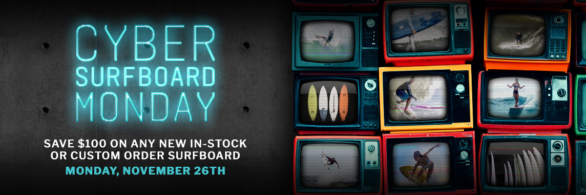 Cyber Surfboard Monday