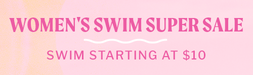 Women's Swim Blowout - Swim Starting at $10
