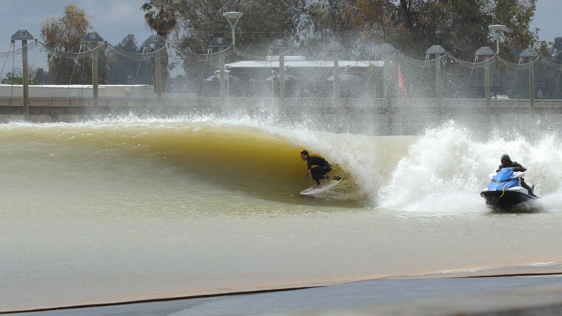 Jame Jenkins on FRK at Kelly Slater Surf Ranch