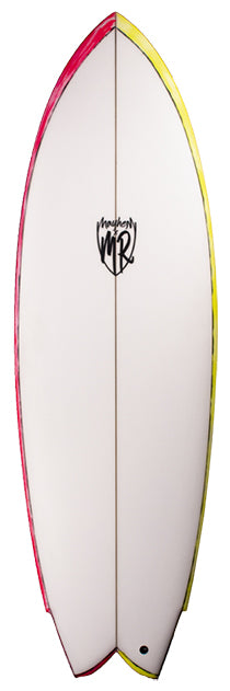 MR California Twin Surfboard
