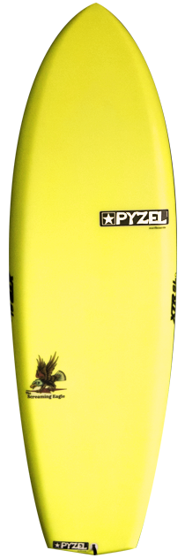 Pyzel Screaming Eagle Surfboard
