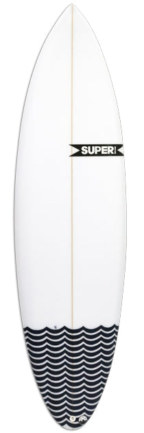 SUPERbrand Pig Dog Surfboard