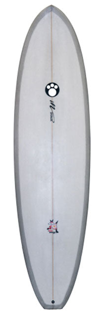 Maurice Cole Red Dingo Surfboard