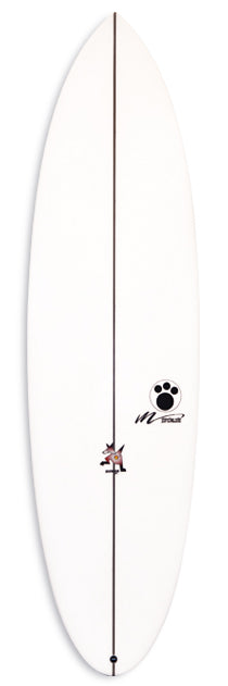 Maurice Cole Black Dingo Surfboard