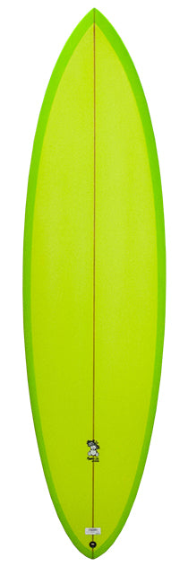 Maurice Cole Reverse Vee Step-Up Surfboard