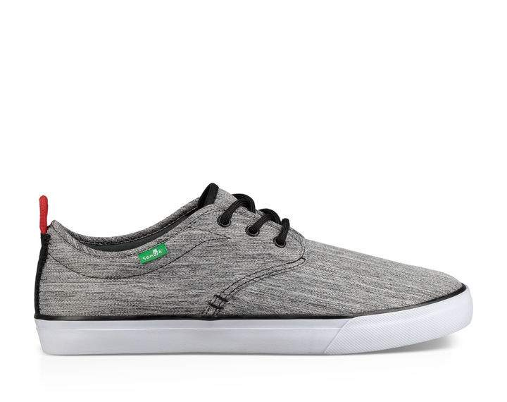 Sanuk Guide Plus Shoe-Grey Space Dye