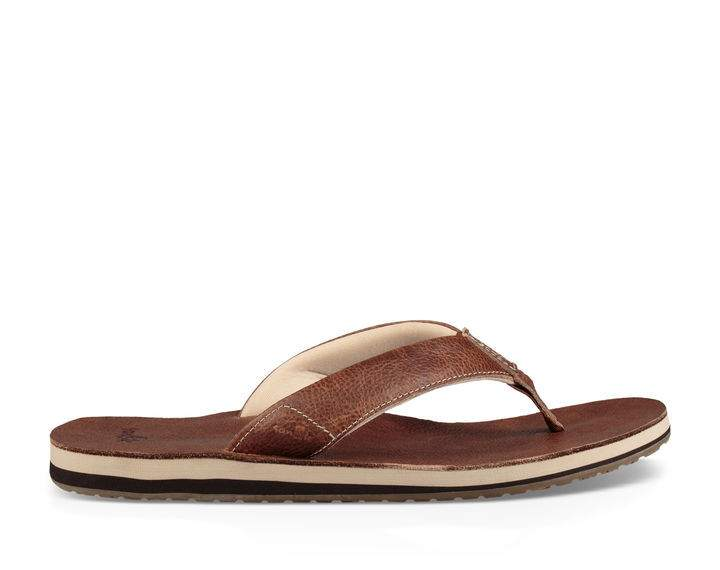 Sanuk John Doe 2 Sandal-Light Brown