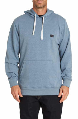 Billabong All Day Pullover Sweatshirt-Washed Blue