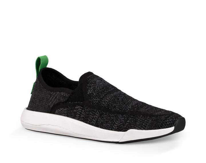 8b83ebe13101 Sanuk Chiba Quest Knit Shoe-Black — REAL Watersports