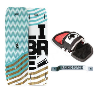 Liquid Force Libre 150cm Kiteboard With Phase Strap Kit