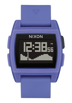 Nixon Base Tide Watch-Purple Resin