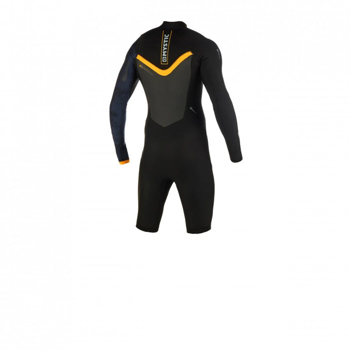 Mystic Majestic LS Zipfree 3/2mm Springsuit-Black