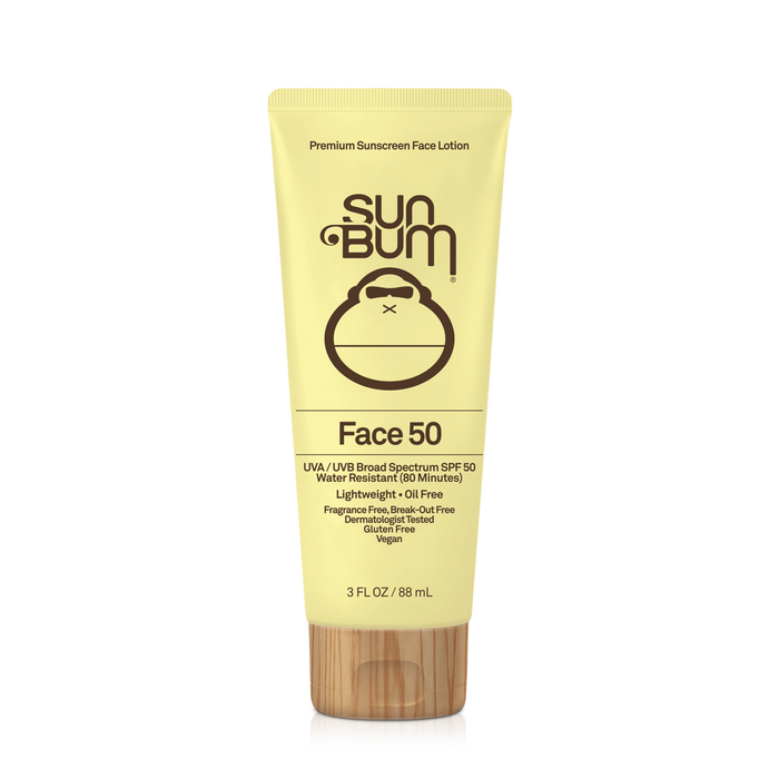 Sun Bum Original Sunscreen Face Lotion SPF 50-3 oz