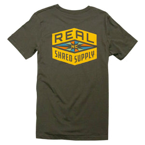 REAL Shred Supply Tee-Army