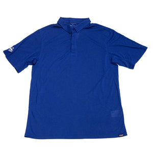 Patagonia x REAL Cap Cool Trail Polo Shirt-Superior Blue