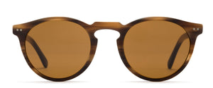 Otis Omar Eco Sunglasses-Horn Wood/Brown Polar