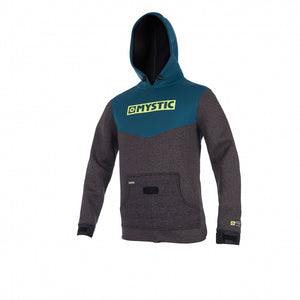 Mystic Voltage Sweat Jacket-Teal