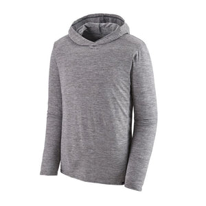 Patagonia Capilene Cool Daily Hooded L/S Tee-Feather Grey