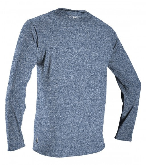 O'Neill Youth Hybrid L/S Sun Shirt Rashguard-Cool Grey