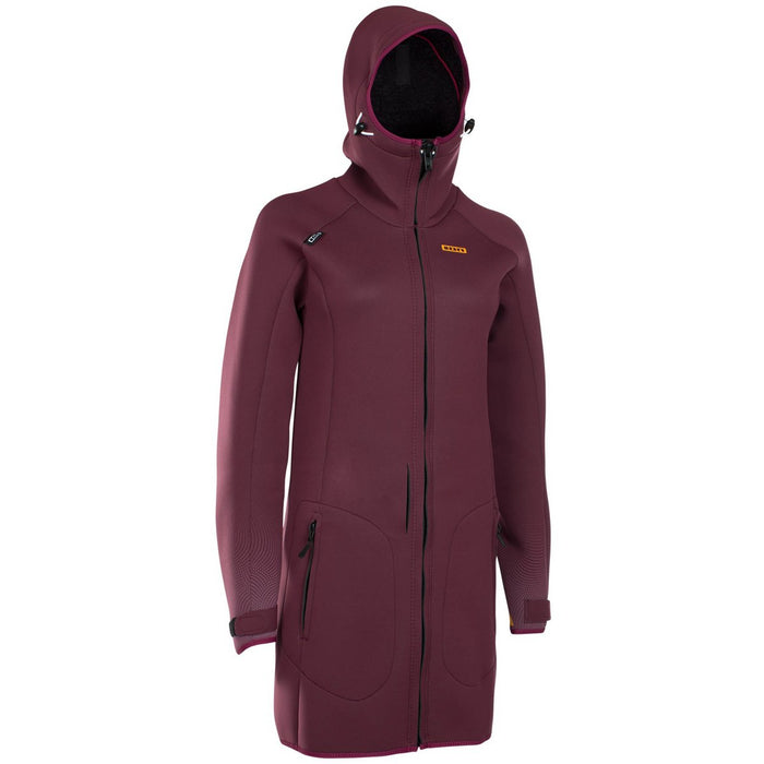 ION Neo Cosy Coat-Dark Berry