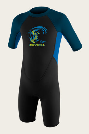 O'Neill Toddler Reactor-2 2MM BZ Springsuit-Black/Ocean