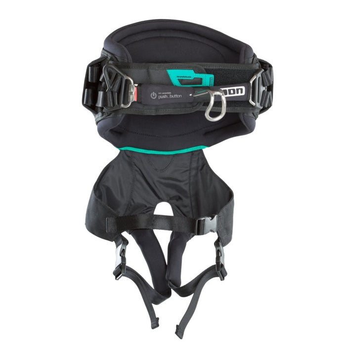 2019 ION Ripper Kite 2 Waist Harness-Black