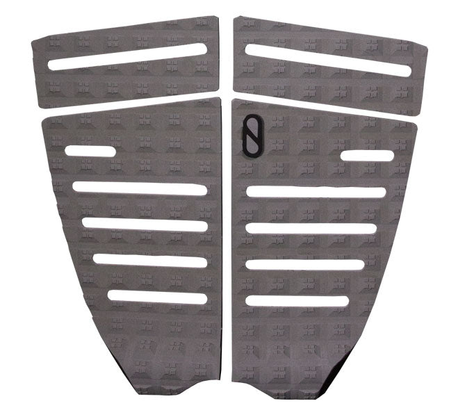 Slater Designs Algae 4 Piece Flat Traction Pad-Grey