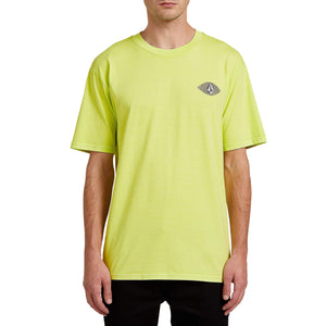 Volcom VCO Visions Tee-Hilighter Green