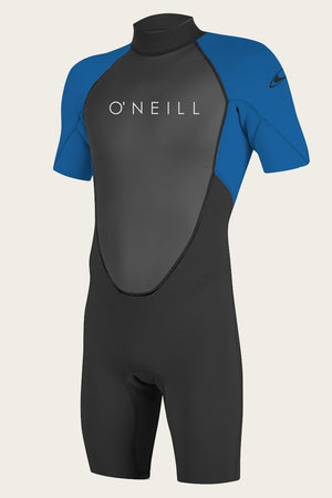 O'Neill Youth Reactor II 2mm BZ S/S Springsuit-Blk/Ocean