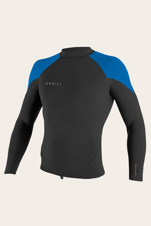 O'Neill Youth Reactor-2 1.5/1.0MM L/S Top-Black/Ocean