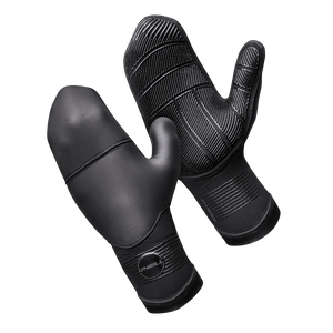 O'Neill Psycho Tech 7MM Mittens-Black